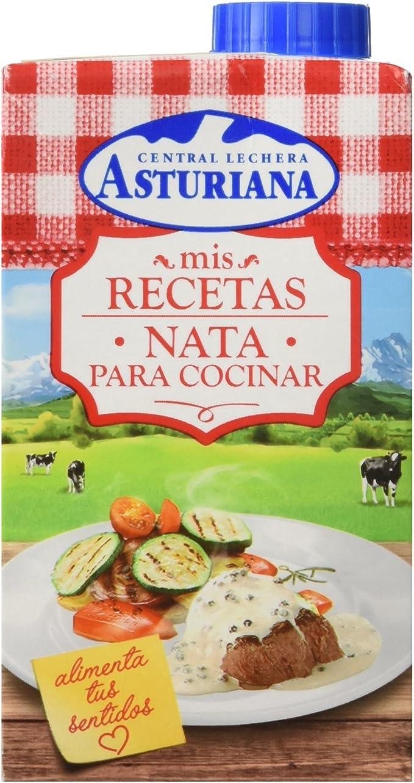 Central Lechera Asturiana Mis Recetas Nata para Cocinar, 500ml