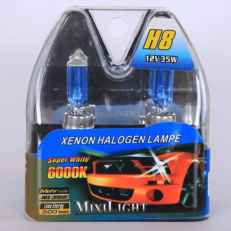 H8 Xenon Halogenlampe Lampen Xenon Optik Night Light Super White 6000 12v 35watt Auto