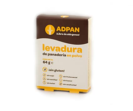 Adpan, Levadura de panadería - 64 gr.: Amazon.es ...
