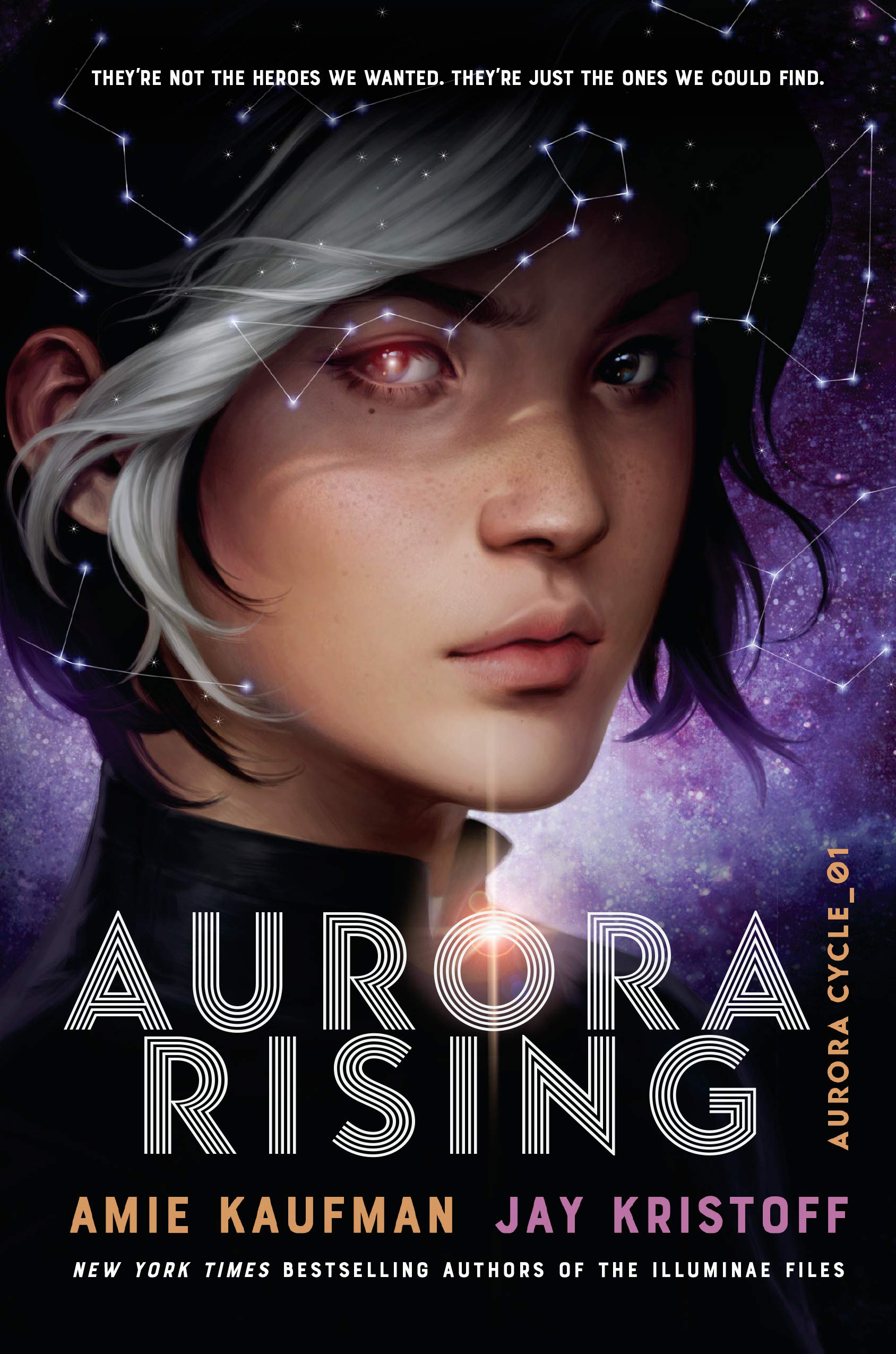 Book Reviews by KPL Teens: Amie Kaufman and Jay Kristoff's Aurora Rising
