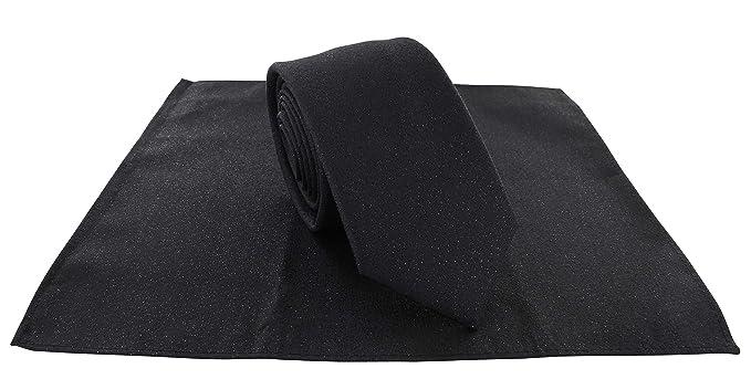 Michelsons of London Lurex Sparkle - Juego de corbata y pañuelo de ...