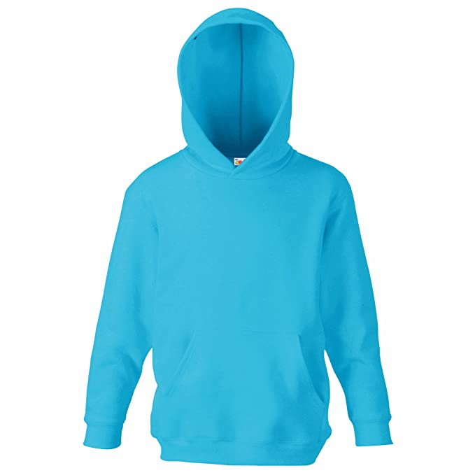 dd13f285f Fruit of the Loom Kids   Childrens Hooded Pullover Sweat Shirt ...
