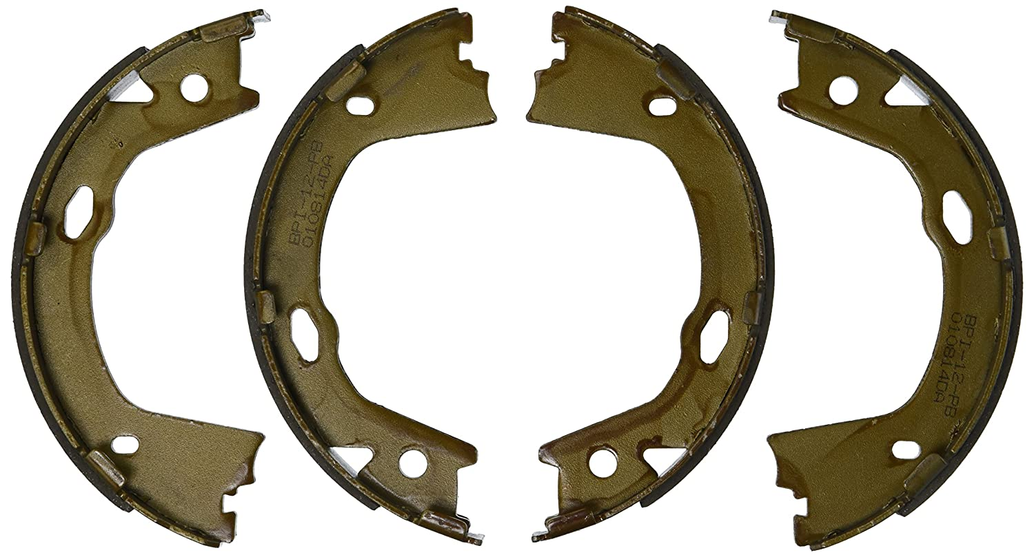 ACDelco 17982B Professional Bonded Rear Parking Brake Shoe Set