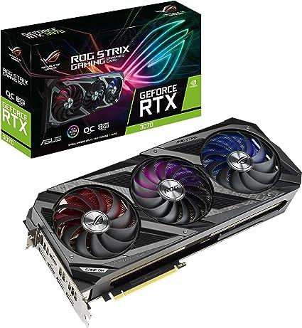 ASUS ROG Strix GeForce RTX 3070 Graphics Card