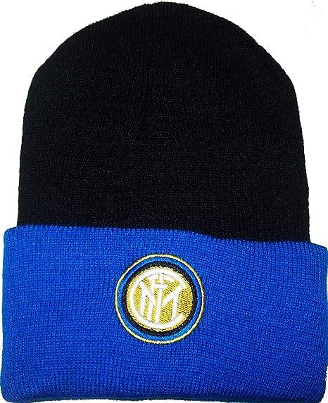 F.C.Internazionale Cuffia Inter Ufficiale Nera Berretto Cappello INTNE03 da06750005bd