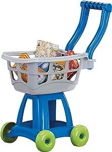 American Plastic Toys Kid's Shopping Cart Set, gray (20180)