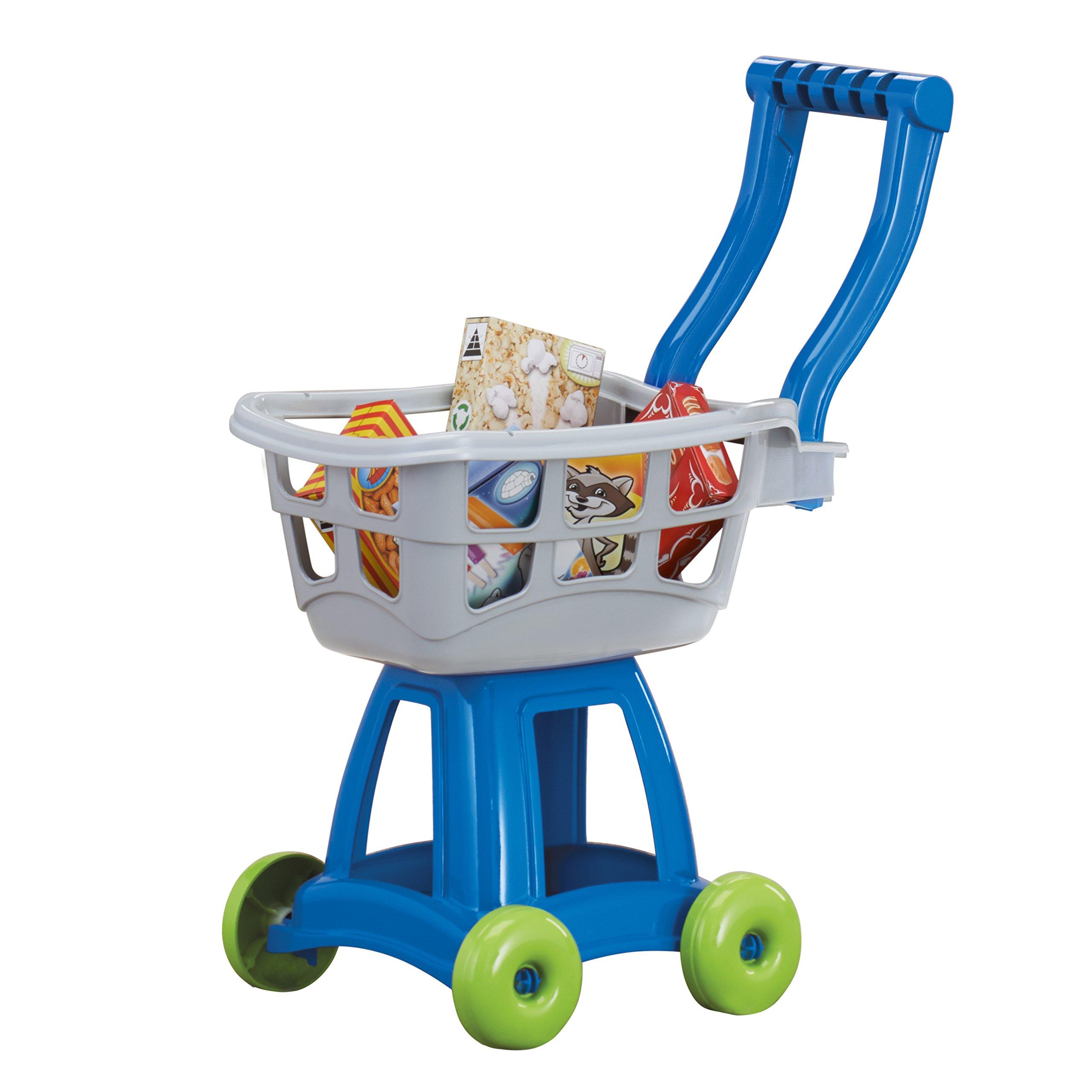 American Plastic Toys Kids Shopping Cart Set, Gray by American Plastic Toys
