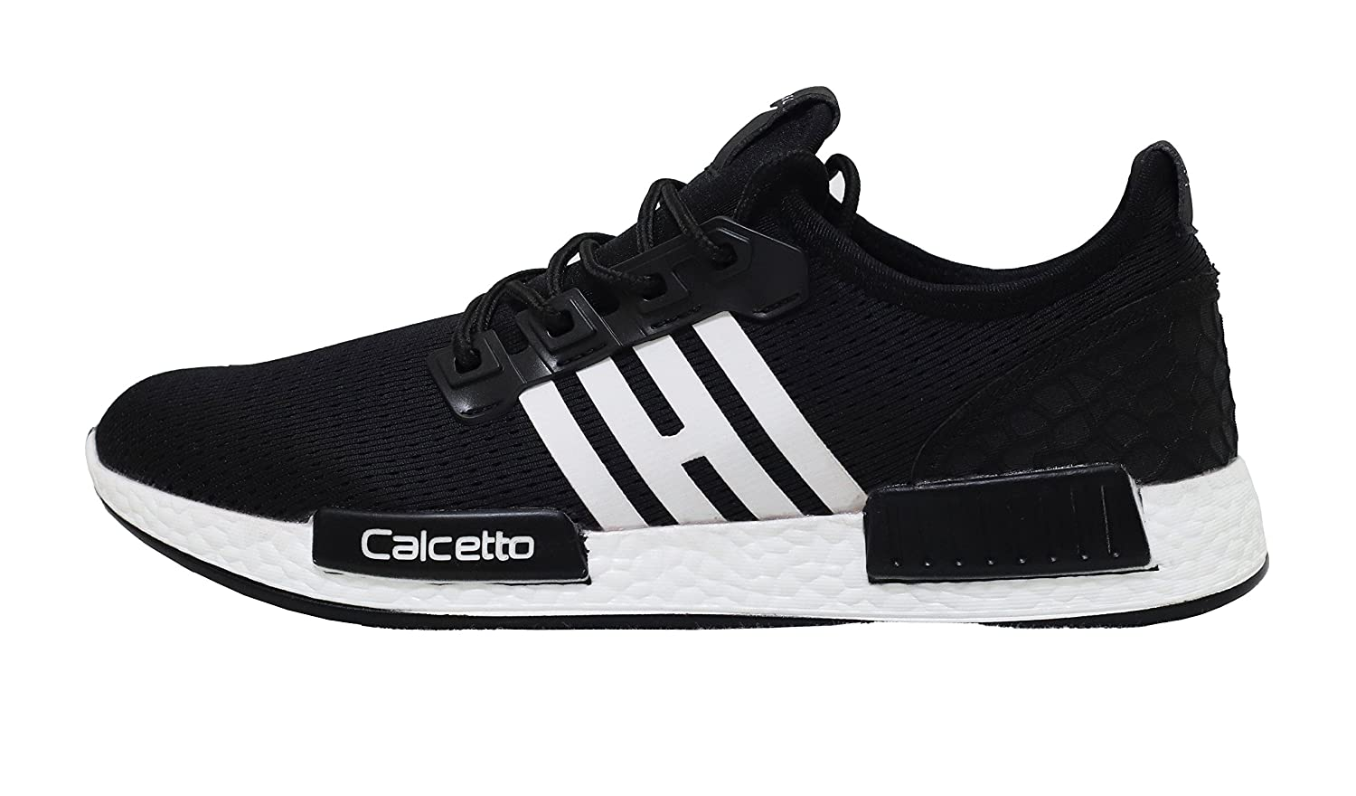 5e344f193a75a8 Calcetto Men's Mesh Sports Running Shoes (fs5_9, 9, Black): Buy Online at  Low Prices in India - Amazon.in