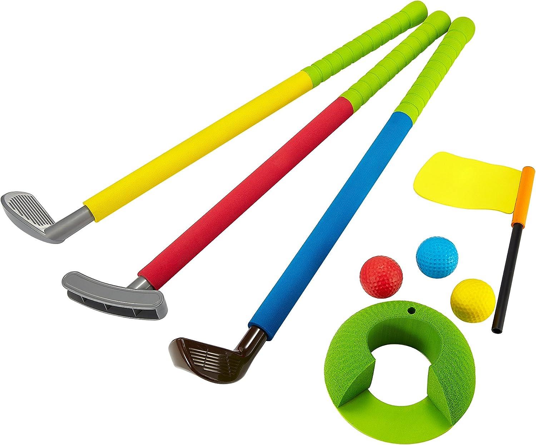 Uarzt Soft Foam Glof Sets Toys for Kids Childrens Toddler Indoor/Outdoor