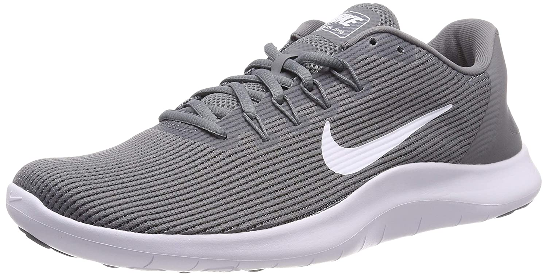 Cool Grey White Cool Grey Nike Men's Flex 2018 Rn Running shoes