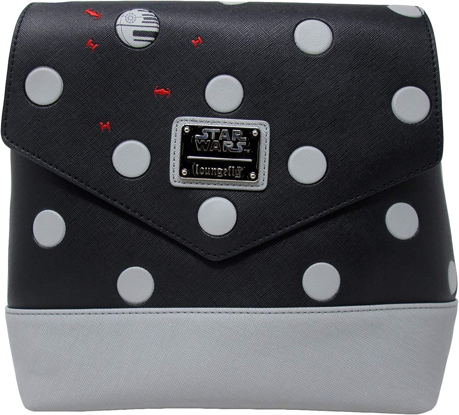 Loungefly x Star Wars Polka Dot Death Star Patterned Mini Backpack