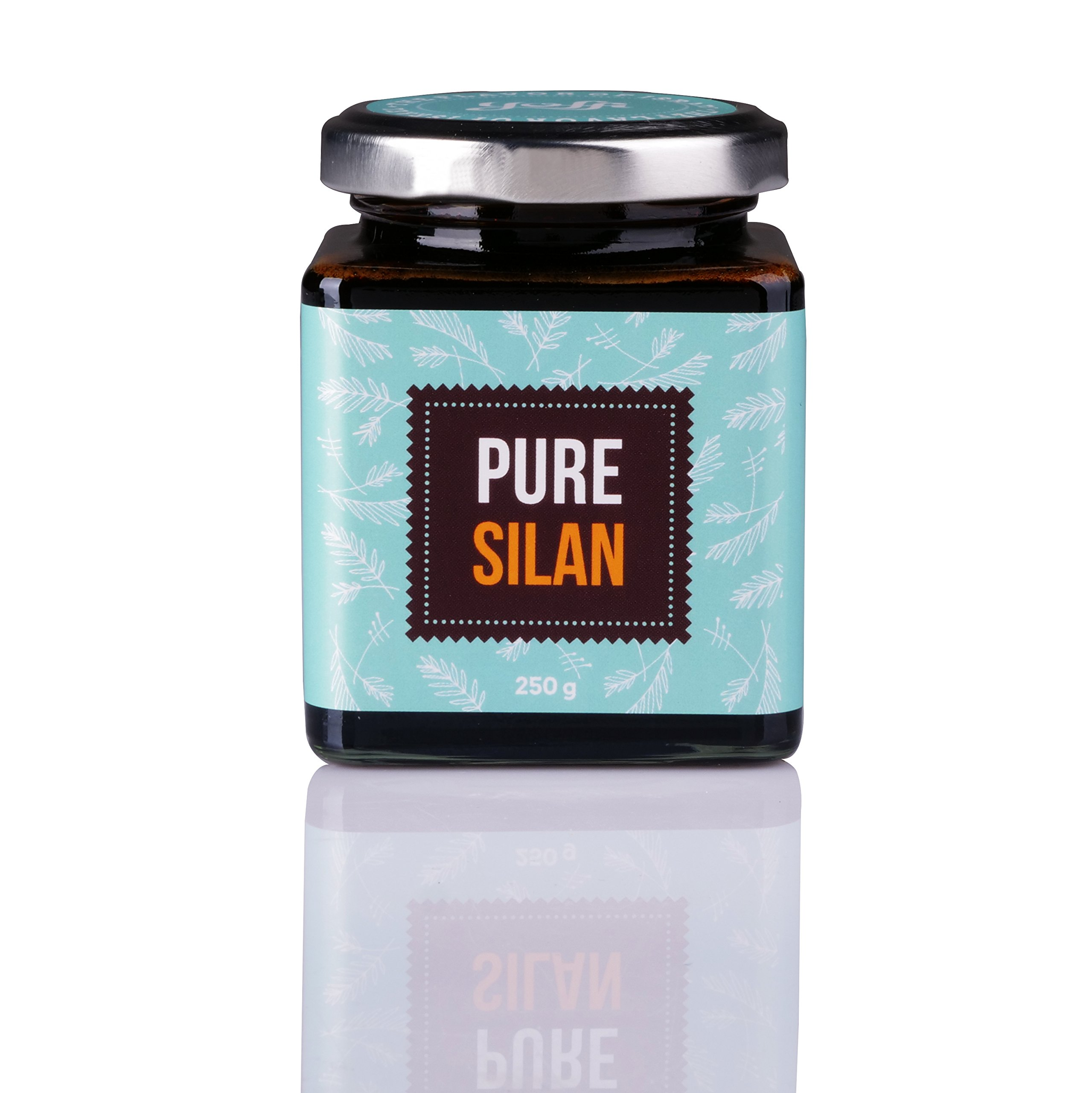 Yoffi 100% Pure & Natural Date Syrup Pure Silan | Vegan Syrup | Healthy Sweet Sugar Free| Healthy Natural Date Syrup Pure Silan | Non GMO Dairy Free | Vegan-Friendly & Kosher Pareve 8.8 Oz