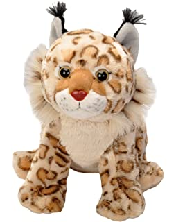 Wild Republic Bobcat Plush, Stuffed Animal, Plush Toy, Gifts for Kids, Cuddlekins