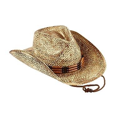 04c0e9298f5d9 AccessHeadwear Old Stone Jones Men s and Women s Unisex Cowboy Drifter  Style Hat at Amazon Men s Clothing store