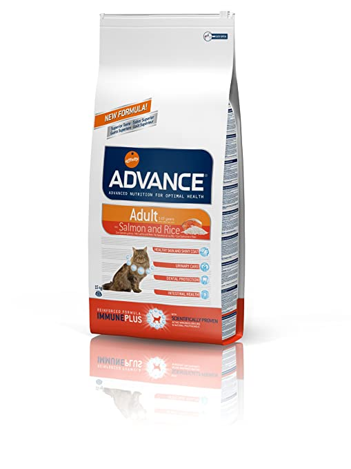Advance Sensitive Pienso para Gato Adulto con Salmón y Arroz - 15 Kg