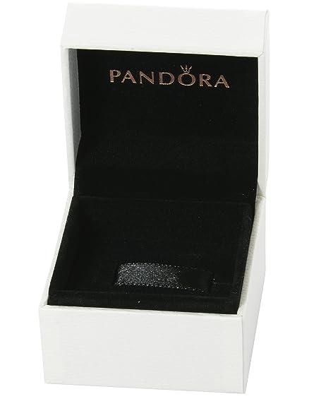 Caja para pulsera Pandora - Interior negro cojín de terciopelo para pulsera - 5 cm x5 cm x4,5 cm