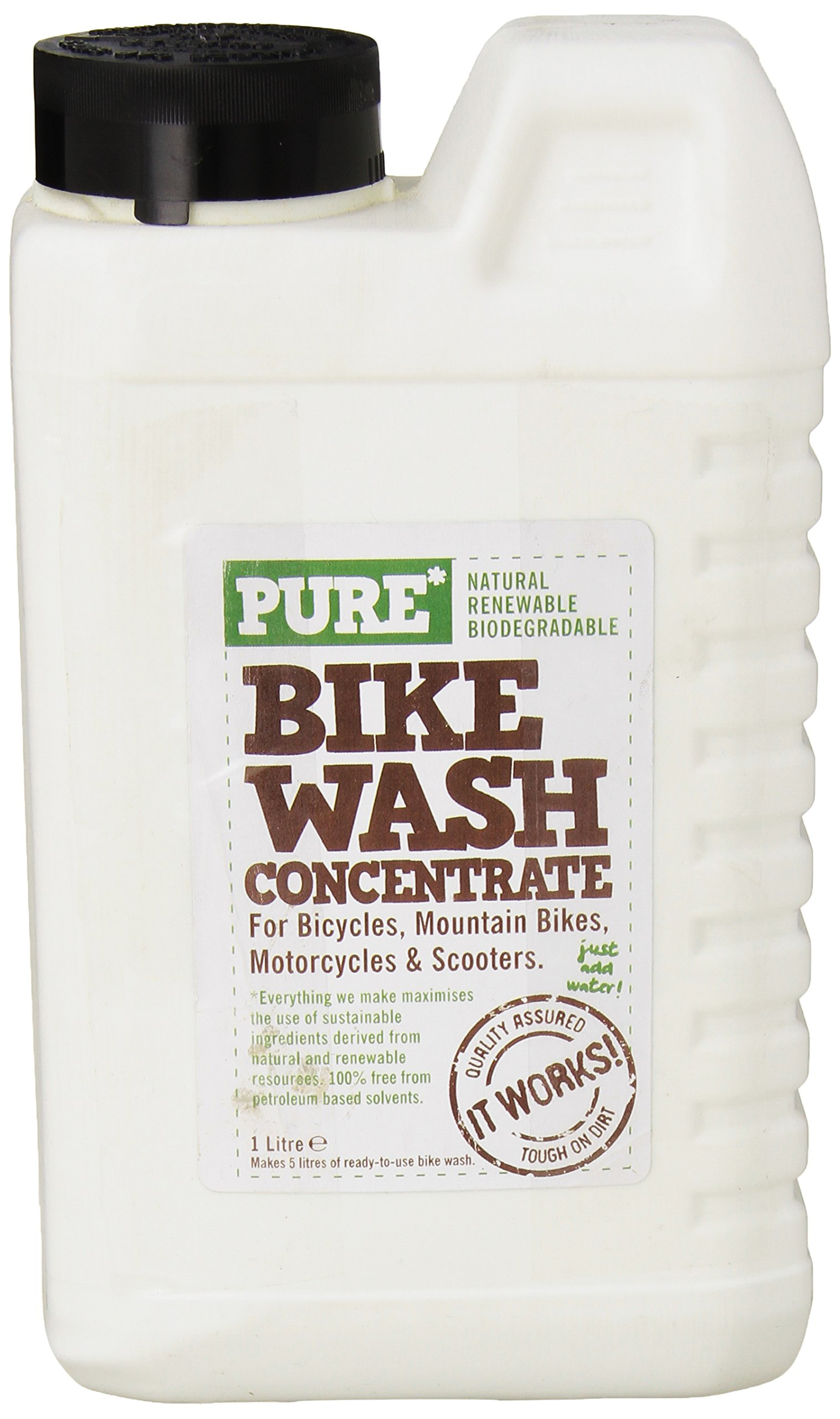 Pure Bike Wash Concentrate, 1-Liter