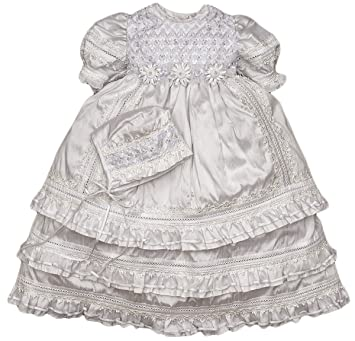 9f3ee259896e Image Unavailable. Image not available for. Color: Heirloom Christening  Baptism Gown ...