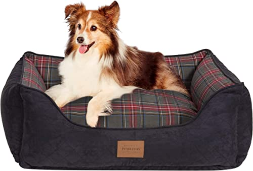 Carolina Pet Pendleton Kuddlers Grey Stewart Dog Bed