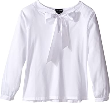 roll sleeve blouse - White Oscar De La Renta Free Shipping Popular Sale Visa Payment Footlocker Pictures Cheap Price Free Shipping Cheap Online Cheap Sale Pay With Visa h4ENPouS