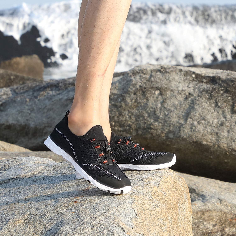 Alibress Mens Water Shoes Lightweight Quick Dry Aqua Beach Shoes