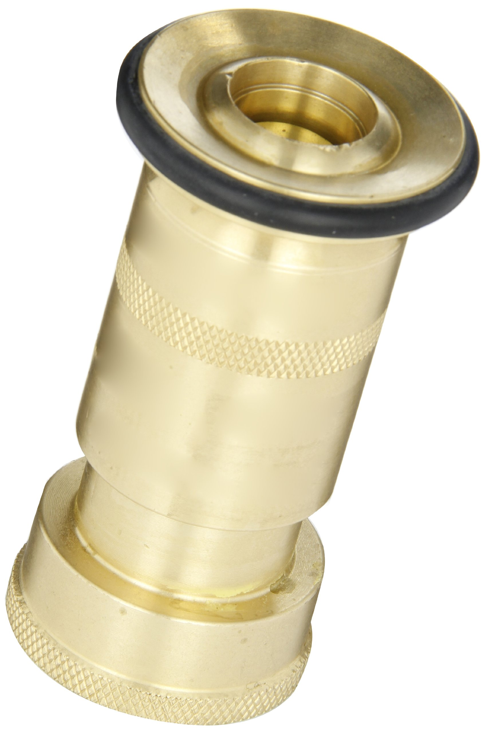 Dixon Valve BFN100NST Brass Fire Equipment, Industrial Fog Nozzle, 1'' NST (NH)