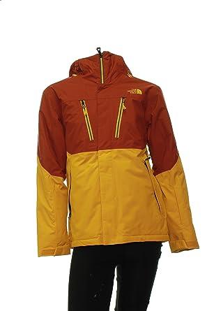 Amazon.com  The North Face Men s Fourbarrel Ski Jacket Yellow ... e523227a06b4