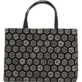 印伝風 ( 印傳調 ) 和装バッグ 和装 手提げバッグ 和柄 着物 ( きもの / キモノ ) 用 フォーマル ( 礼装 ) バッグ かばん 日本製 ( 国産 ) 04 A4 OK