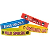 Marvel Avengers Rubber Wristbands