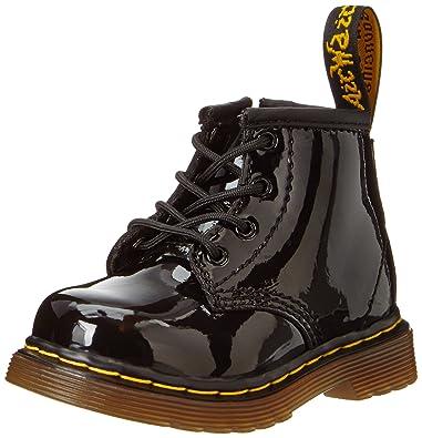 29a6206166965 Dr. Martens Girls' Brooklee B - K, Black Patent, 5 M UK