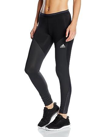 adidas TF Chill Tight - Capri tights for woman, color Black, size XS