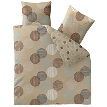 Aqua Textil Trend Fara Bettwäsche 3 Teilig 200x200 Baumwolle