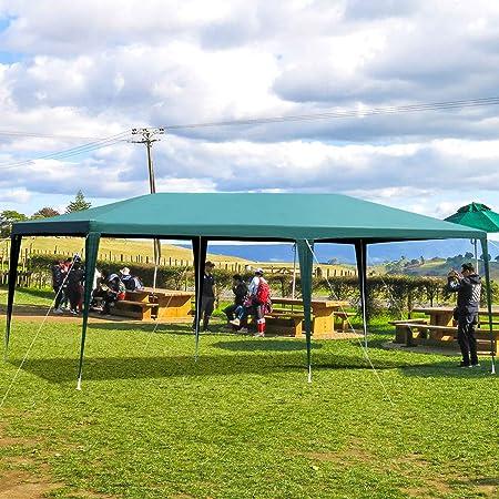 CASART Outdoor Gazebo Tent, 3x3M3x6M Garden Patio Party Wedding Canopy Marquee Shelter