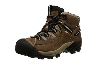 Keen Men's Targhee Ii Mid Wp High Rise Hiking Boots, Brown (Shitake/Brindle Shitake/Brindle), 7 UK 40.5 EU