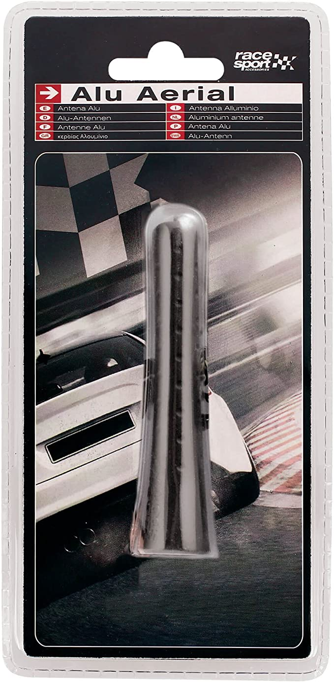 SUMEX 4008021 - Antena Rubber, Color Negro, 80 mm
