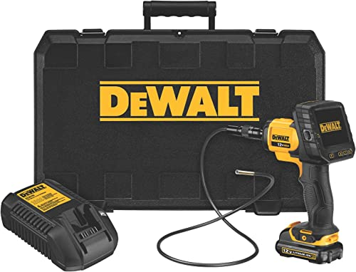 DEWALT (DCT412S1) 5.8-mm 12V MAX Inspection Camera with Wireless Screen Kit