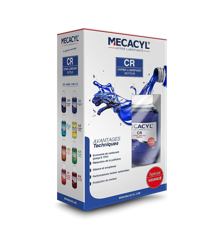 MECACYL *.* CR - Hyper-Lubrifiant - 60 ml - Spé cial vidange - Pour moteurs 4 Temps (Essence, Diesel, Hybride, Gaz)
