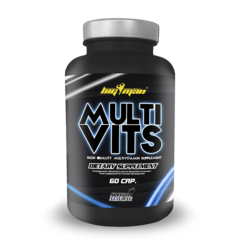 Big Man Nutrition Multi-Vits Multivitaminas - 60 Tabletas