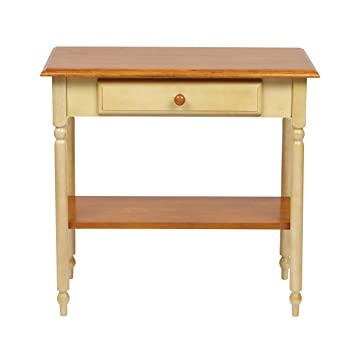 Amazoncom Charlton Home Country Cottage Foyer Table Console Table - Country cottage console table