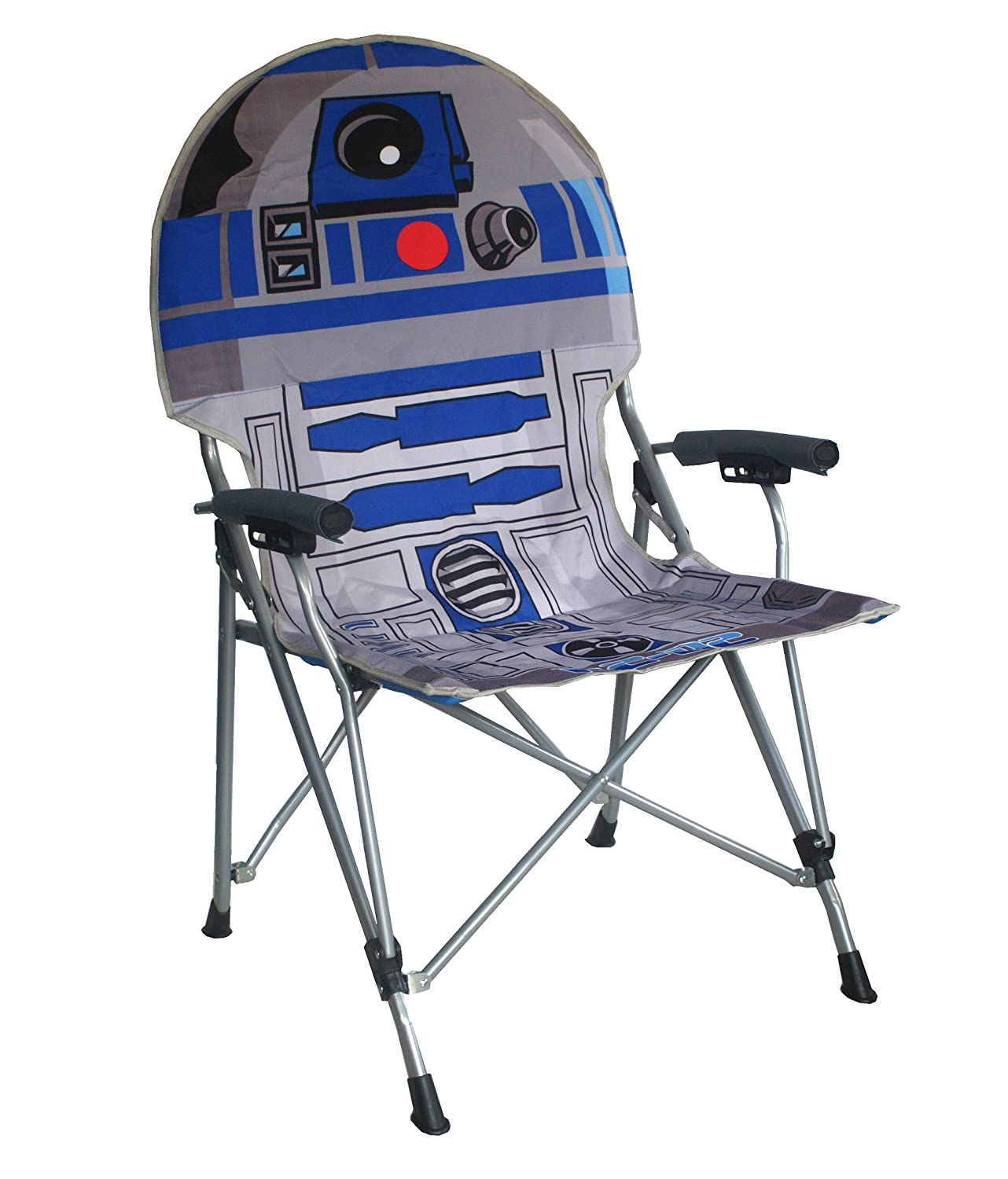 Amazon Star Wars R2D2 Full Size Folding Hard Armrest Chair