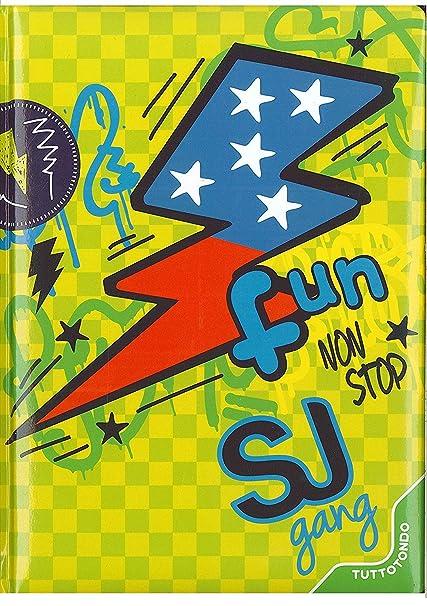 Seven SJ - Agenda escolar de 20 x 15 cm, colección Fun no ...
