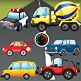 Puzzle for Toddlers : Vehicles, Cars and Trucks ! Educational Puzzles Games