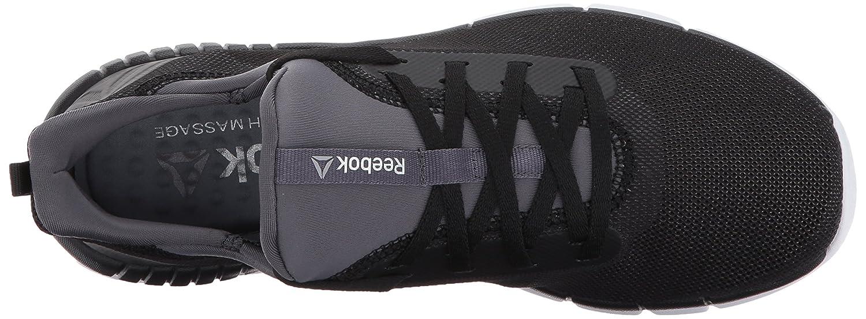 Reebok Women's Print Her 2.0 Track Shoe B01MZ6ILLY 6.5 B(M) US Black/Ash Grey/White