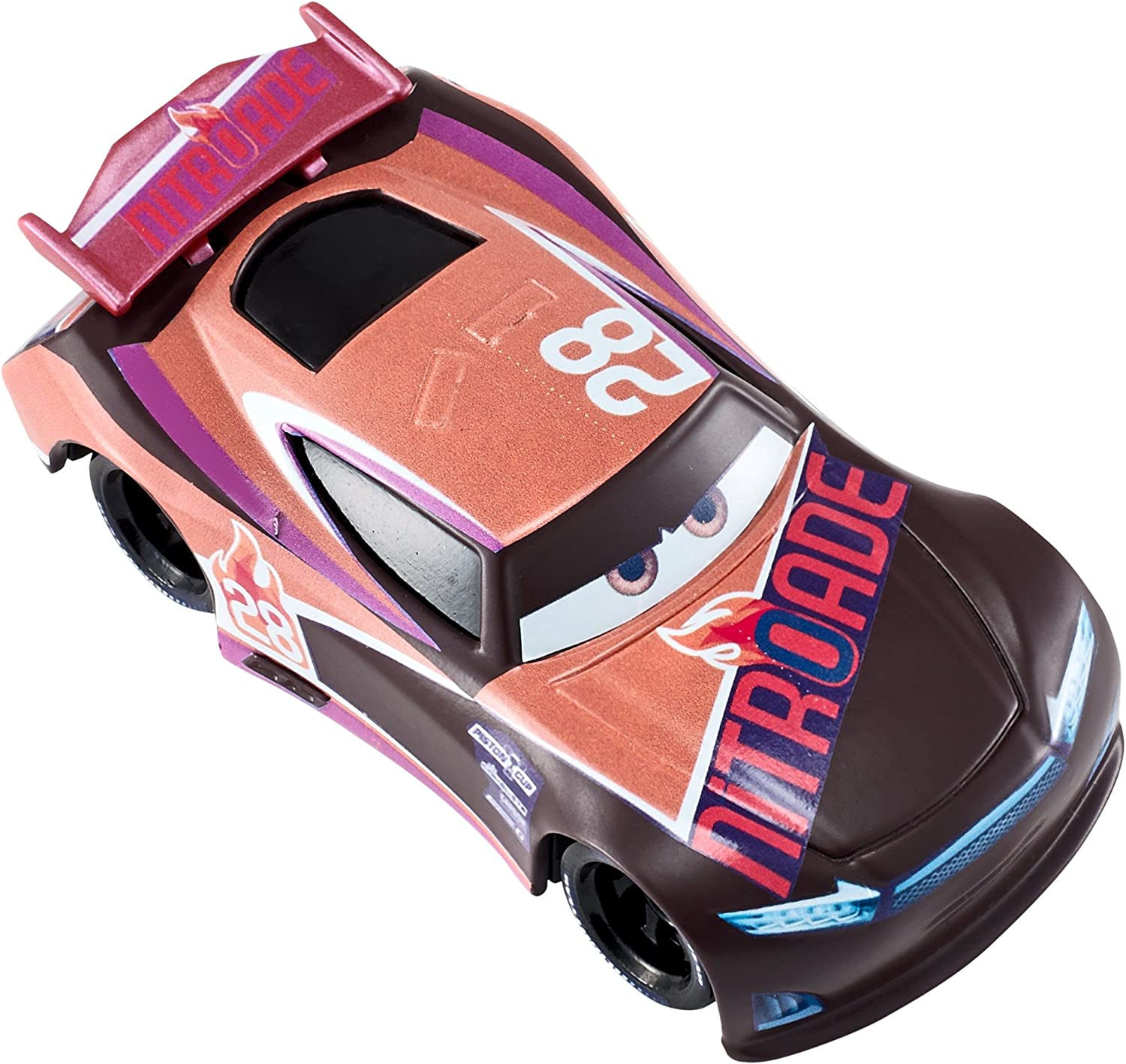 DISNEY PIXAR CARS 3 TIM TREADLESS NITROADE 2017 SAVE 5/% WORLDWIDE FAST SHIP