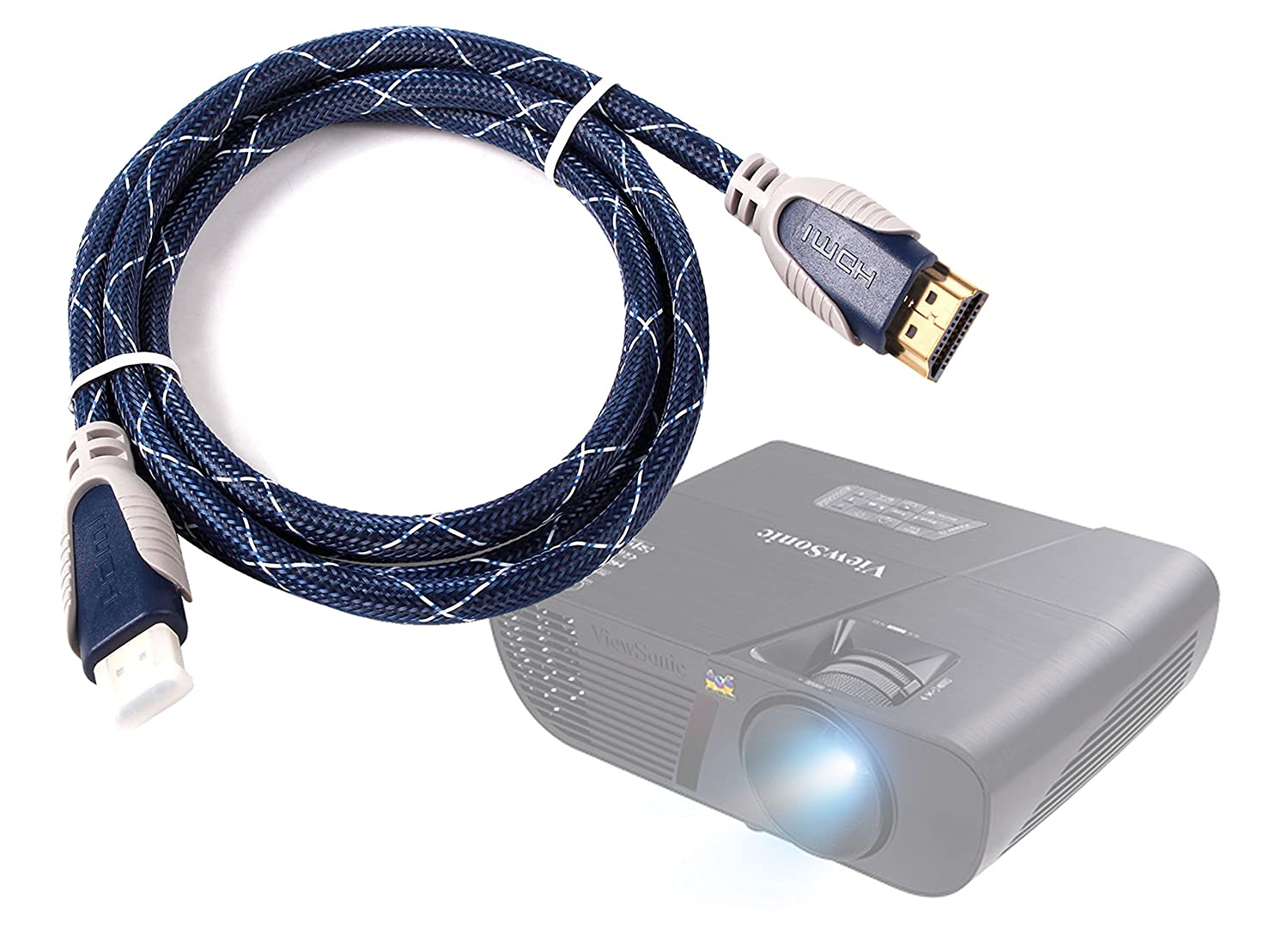 DURAGADGET Cable HDMI para Proyector Excelvan GM60 | LED ...
