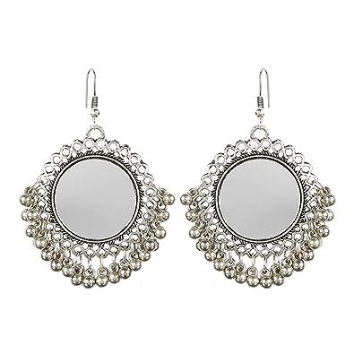 425bbfc03 Buy CosMos Afghani Designer Vintage Oxidised German Silver Tribal ...