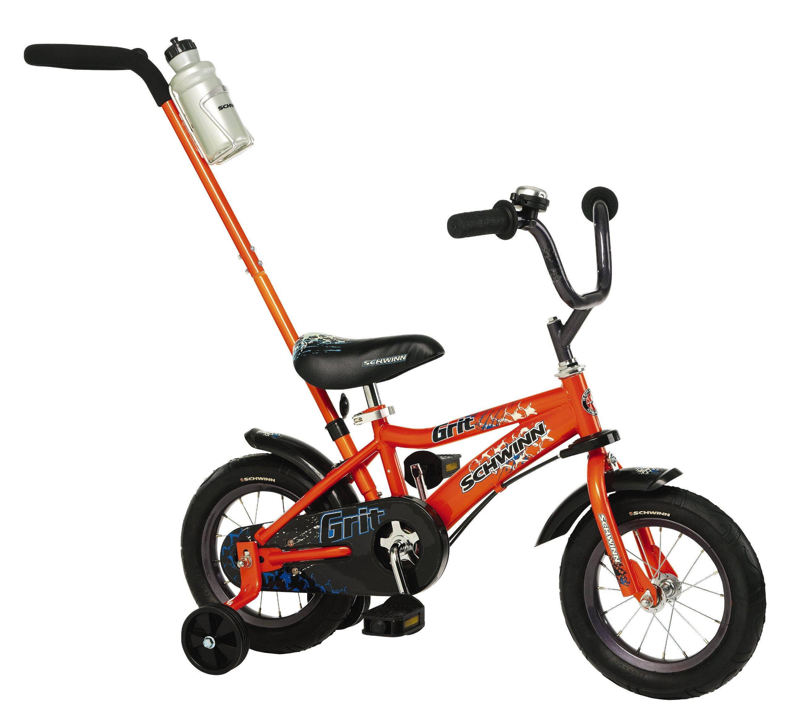 Schwinn Boys' 12-Inch Grit Bike,Orange