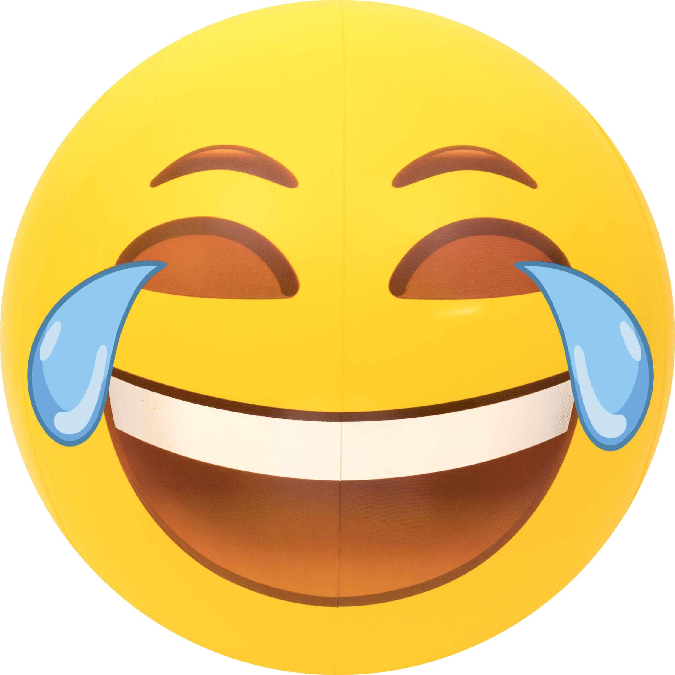 "Coconut Float's Tears of Joy Emoji Beach Ball 27"""