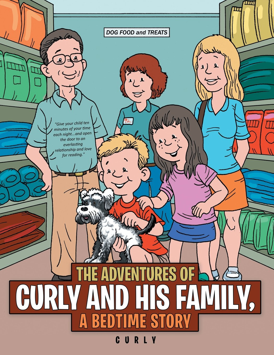 The Adventures of Curly and His Family, a Bedtime Story pdf epub