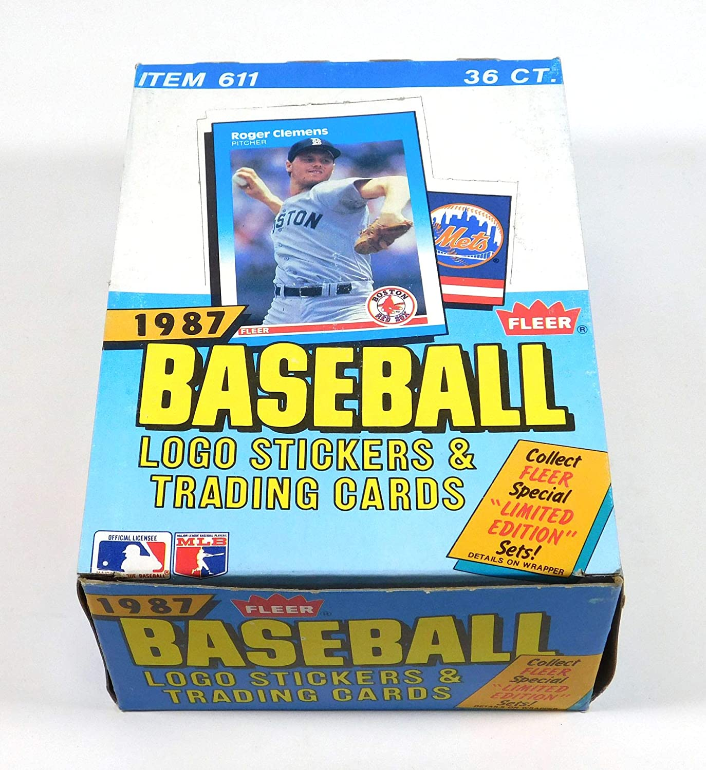 B00A44KR14 1987 Fleer Baseball Card Hobby Box 81DPR6lU-SL
